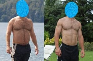before and after ostarine