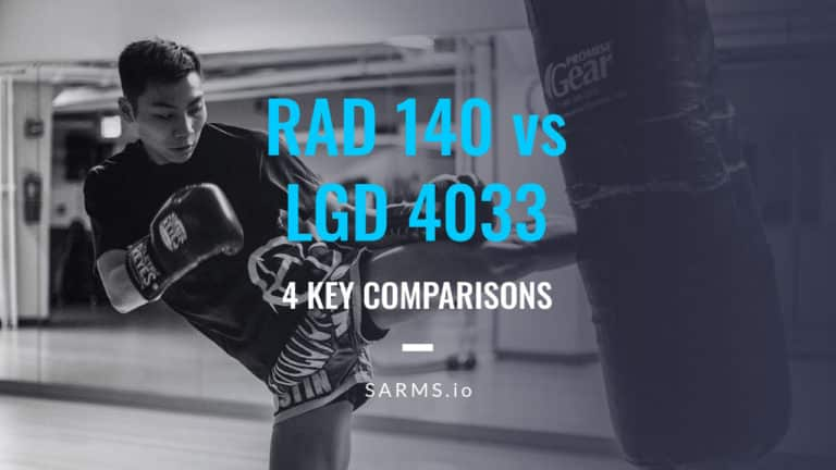 RAD 140 vs LGD 4033 comparisons