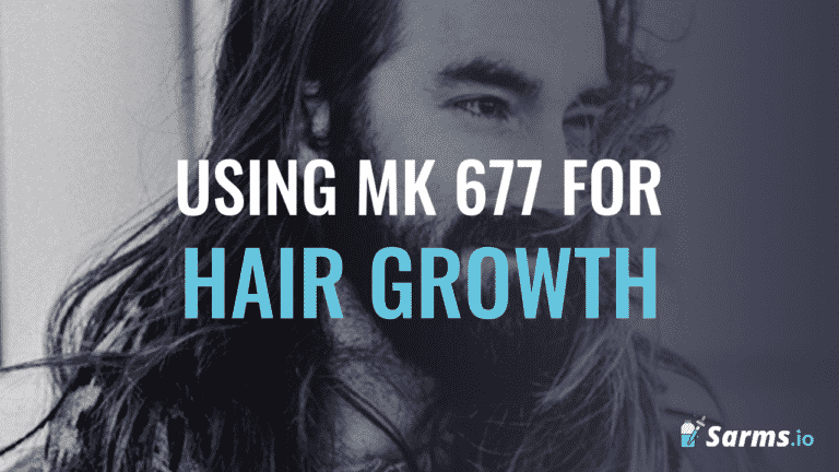 How to use mk 677 to promote hair growth.